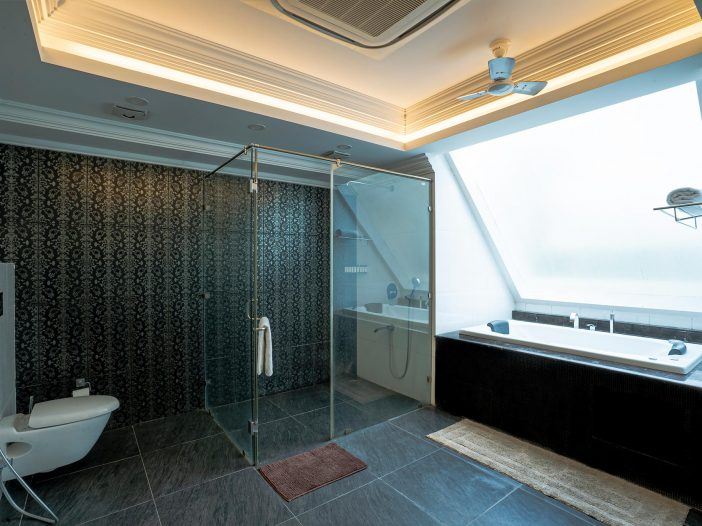 Bathroom of the Double occupancy room