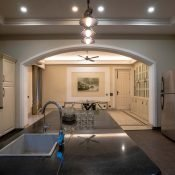 Clean and beautiful kitchen of the Safe House Wellness Retreat India