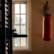 Gym at the Safe House Wellness Retreat