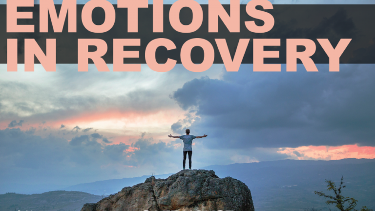 """Image of the blog article """"Dealing with Emotions in Recovery!"""""""