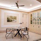 Kitchen inside the Safe House Wellness Retreat India