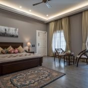 Single occupancy room at the Safe House India